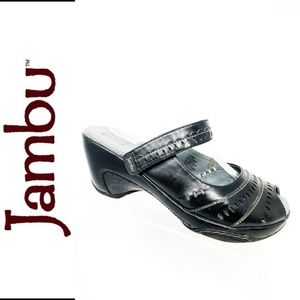 Jambu Womens Slip on Clogs Mules Mary Jane 10